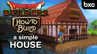 Download Dragon Quest Builders - How to build a house (beautiful but simple) Video