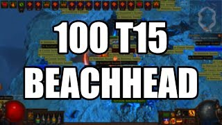Download Loot from 100 T15 Beachhead Maps Video
