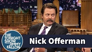 Download Nick Offerman and His College Roommate Had Sexual Codes Video