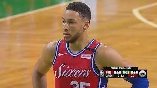 Download Celtics Fans Chant ″He's Not A Rookie″ To Ben Simmons! Video