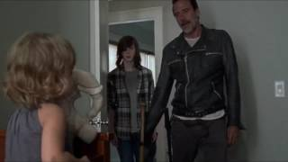 Download The Walking Dead - Negan finds Judith. Video