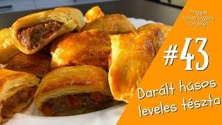 Download Darált húsos leveles tészta -43- Recept RG KONYHÁJA Video