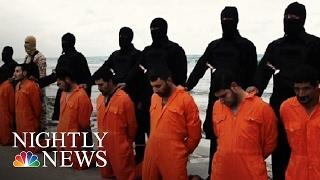 Download ISIS Beheads 21, Egypt Retaliates | NBC Nightly News Video