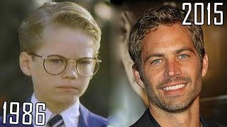 Download Paul Walker (1986-2015) all movies list from 1986! How much has changed? Before and Now! Video