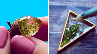 Download FAIRY PENDANTS MADE FROM DRIED PLANTS AND EPOXY RESIN Video