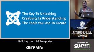 Download JWC 2016 - Building Joomla! Templates - Cliff Pfeifer Video