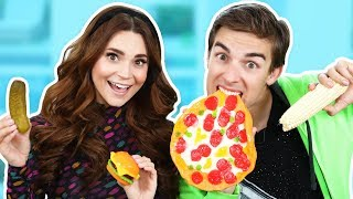 Download GUMMY FOOD vs REAL FOOD! Video