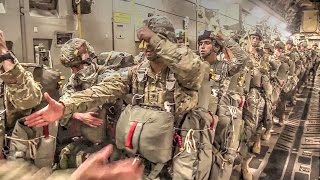 Download US Military Soldiers, Airmen In Airborne Operations Video