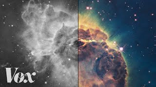 Download How scientists colorize photos of space Video