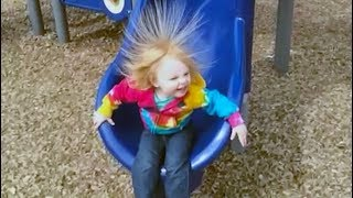 Download FUNNY Babies On The Slides FAILS Compilation Video