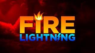 Download Fire Lightning logo Video