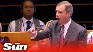 Download Farage: 'You patronising stuck up snob!' Video
