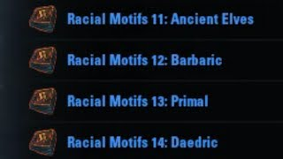 Download Ancient Elves, Barbaric, Primal, Daedric Motifs - ESO How To Find. Video