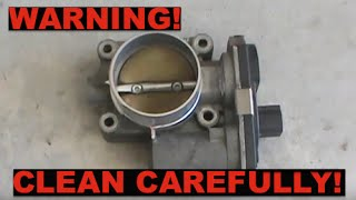 Download Be careful cleaning your throttle body! - Check Engine Light Video