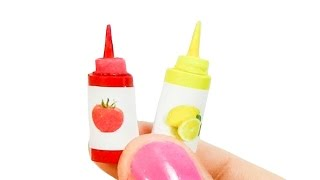 Download Miniature Doll Ketchup or Tomato sauce DIY - Tutorial - YolandaMeow♡ Video