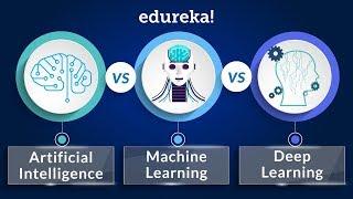 Download AI vs Machine Learning vs Deep Learning   Machine Learning Training with Python   Edureka Video
