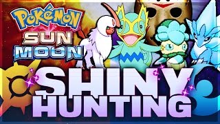 Download 4 SHINY POKEMON IN 5 HOURS! INSANE SHINY REACTIONS! Friday the 13th Sun & Moon SHINY HUNTING! Video