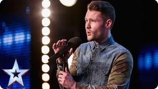 Download Golden boy Calum Scott hits the right note | Audition Week 1 | Britain's Got Talent 2015 Video