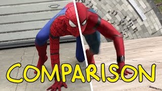Download Spider-Man: Homecoming - Homemade Side by Side Comparison Video