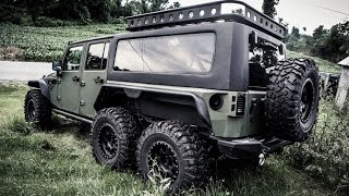 Download Jeep Wrangler 6x6? Conheça o G. Patton Tomahawk - AutoVídeos Video