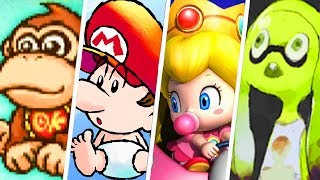 Download Evolution of Baby Characters in Nintendo Games (1982 - 2019) Video