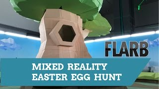 Download HoloLens Mixed Reality Easter Egg Hunt VRLA Behind the Scenes Video