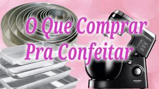 Download Quais Utensílios Necessários Para Começar na Confeitaria em Casa - Confeitaria Refinada Video