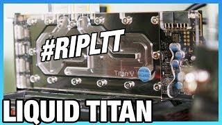 Download #RIPLTT: Accepting Linus' OC Challenge, Pt. 1/2 (EKWB Titan V) Video