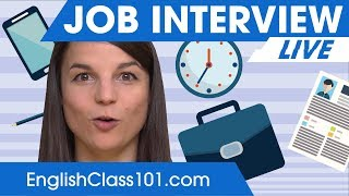 Download What to say at your job interview? English Phrases & Tips! Video