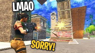 Download I LEFT FILL ON IN PLAYGROUND AND RUINED BUILD BATTLES in Fortnite (KID GETS REALLY MAD) Video