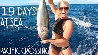 Download 19 DAYS AT SEA. SAILING ACROSS THE PACIFIC - Adventure 18 (Sailing Around the World) Video