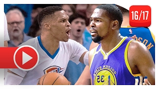Download Kevin Durant vs Russell Westbrook EPIC Duel Highlights (2017.02.11) Warriors vs Thunder - MUST SEE! Video