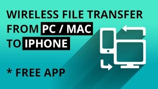 Download Wirelessly Transfer Files To iPhone From PC / Mac Video