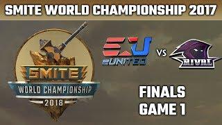 Download SMITE World Championship 2018: Finals - eUnited vs. Team Rival (Game 1) Video