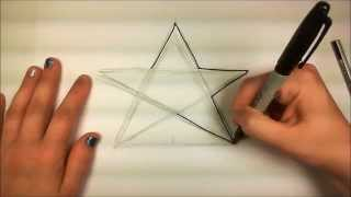 Download Learn How to Draw An Easy Star - iCanHazDraw! Video