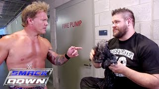 Download Kevin Owens finds Chris Jericho's scarf: SmackDown, July 7, 2016 Video