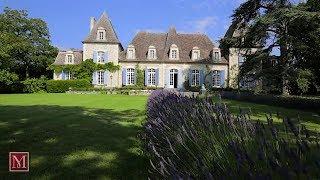 Download Chateau for sale near Bergerac, Dordogne France. 4217351 Video