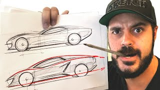 Download How to draw cars - Simple tricks using only a $0.50 pen TRY THIS! Video