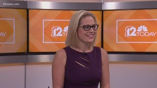 Download Congresswoman and U.S. Senate candidate Kyrsten Sinema talks about the upcoming election with 12 Tod Video