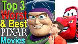 Download Top 3 Worst & Best Pixar Movies Video