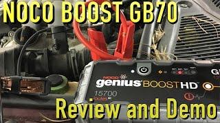 Download NOCO Genius Boost HD GB70 Jump Starter ~ Review Video