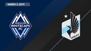 Download HIGHLIGHTS: Vancouver Whitecaps FC vs. Minnesota United FC | March 2, 2019 Video