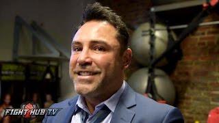 Download De La Hoya still targets Canelo GGG in Sept. Saunders offer cut in half after terrible performance Video