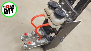 Download Hydraulic Brake Steering - Tracked Amphibious Vehicle Build Ep. 12 Video