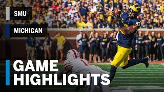 Download Highlights: SMU at Michigan | Big Ten Football Video