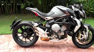 Download Alis Rides Out With MV Agusta Dragster 800 Video