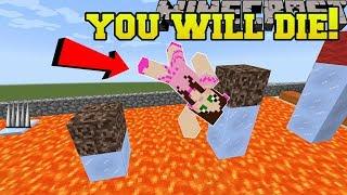 Download Minecraft: YOU WILL DIE!!! (WORLD RECORD HARDEST PARKOUR!!) Custom Map [2] Video