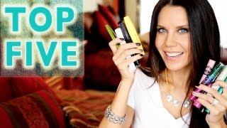 Download TOP FIVE FAVORITES | Best Performing Mascaras Video