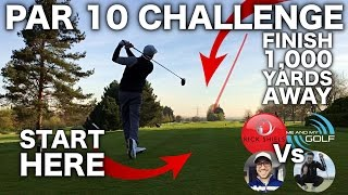 Download 1,000 YARD PAR 10 CHALLENGE!!!! ft ME & MY GOLF, PETER FINCH & SEB ON GOLF Video