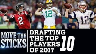 Download Drafting The Top 10 Players of 2017 | Move The Sticks | NFL Video